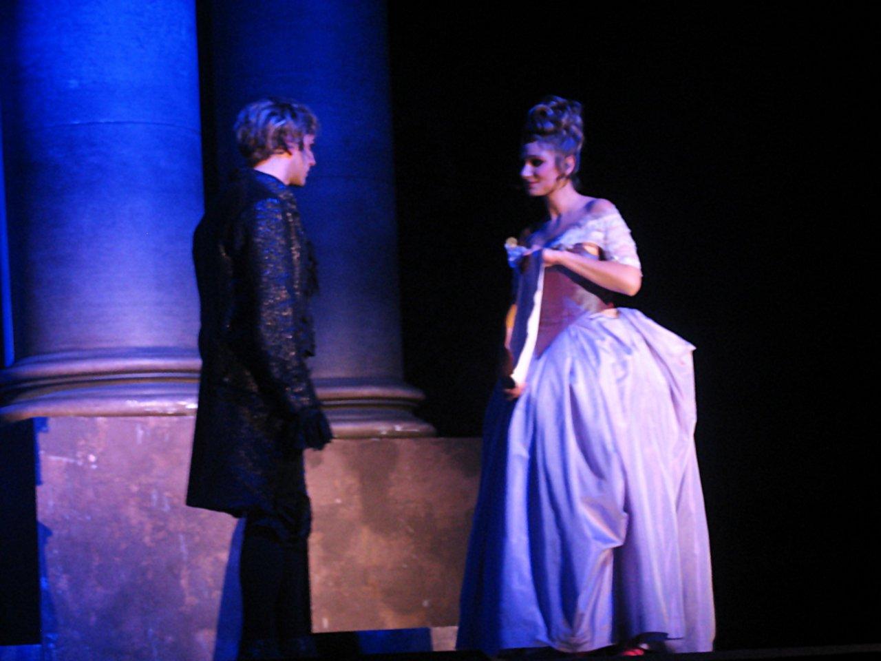 Mozart et Constance Weber