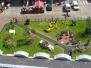Jardin insolite, Boulogne-sur-Mer, été 2009
