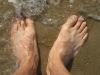 Les pieds dans l\'eau, Touquet, juillet 2009