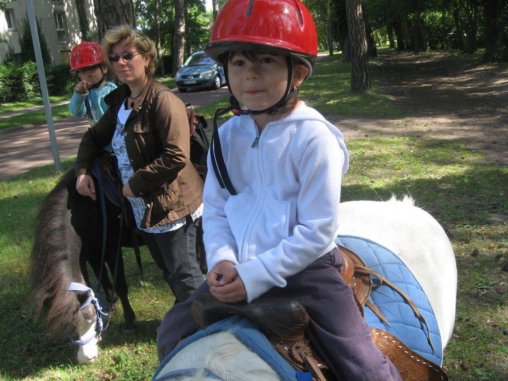 Jade sur son poney