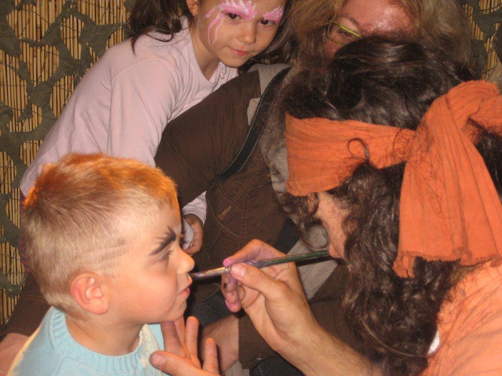 Maquillage des loulous