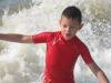 Noah dans les vagues