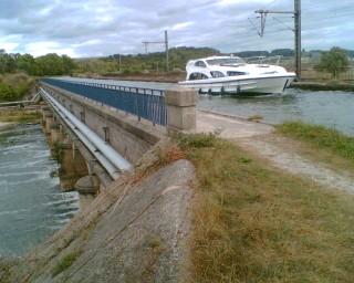 Aqueduc du canal et de la Meurthe, Saint Nicolas de Port