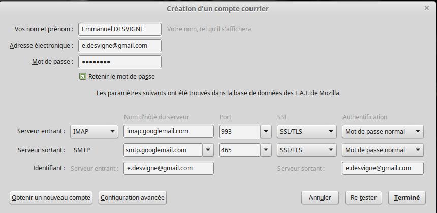 IMAP-GMail